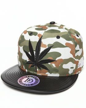 Camo Leaves Hat by Filthy Dripped @ DrJays.com