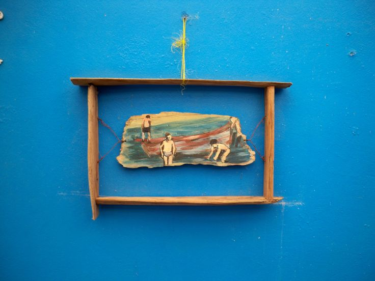 Wall Shelf with Painting
