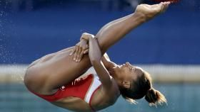 Jennifer Abel and Melissa Citrini-Beaulieu got Canada onto the podium at the FINA Diving World Series in Windsor, Ontario, on...