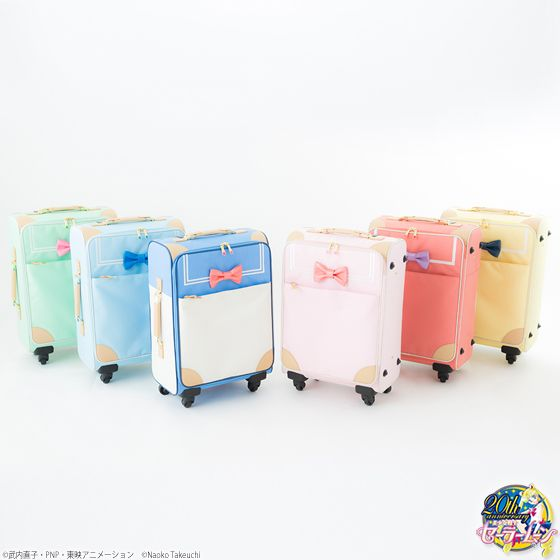 """sailor moon"" ""sailor moon merchandise"" ""sailor moon travel"" ""sailor moon carry on"" ""sailor moon suitcase"" ""sailor moon toys"" ""sailor moon passport"" travel suitcase carryon tote bag passport case shop anime japan 2016 I want the sailor Jupiter one"