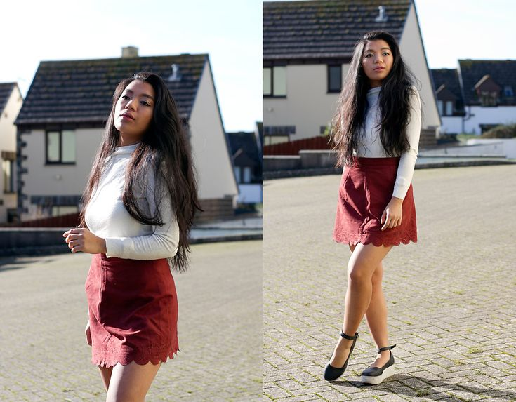 My take on a day time Valentines outfit. Burgundy instead of red as it's more subtle but still has a Valentinesy feel.  More about it at: http://amelodyofdiaries.blogspot.co.uk/2017/02/valentines-in-burgundy.html  #chic #Valentines #casual #girly #burgundy #hm #red #romantic