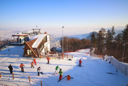 Piatra Neamt Romania ski romanian landscape romanians skying eastern europe mountains winter