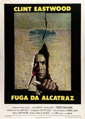 Escape From Alcatraz 1979 Poster Clint Eastwood Movie Posters