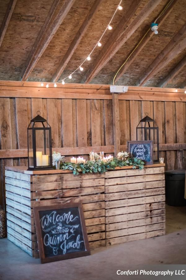 Love This Pallet Bar From The Barn In Zionsville Captured