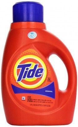 Photo of Tide Detergent, HE, Original Scent 50 fl oz (1.56 qt) 1.47 lt