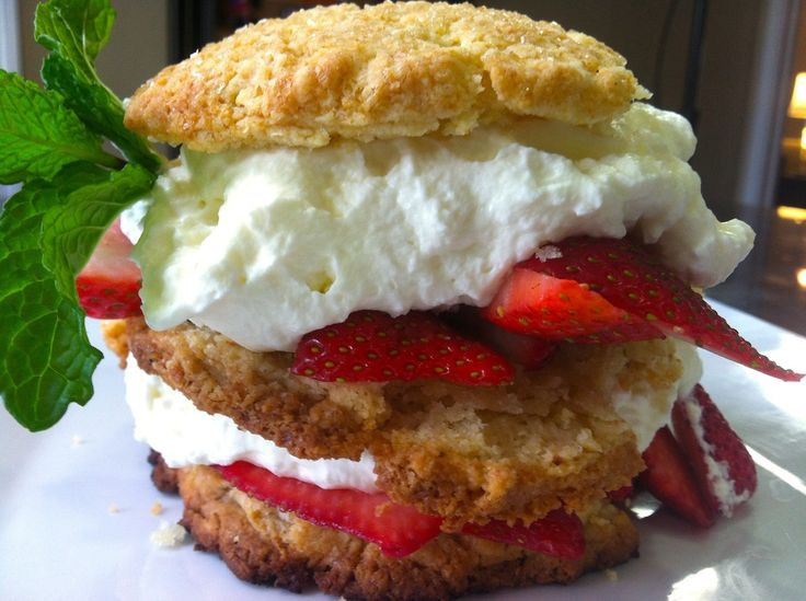 It's funny because when I think of strawberry shortcake I think of this gross runny strawberry mixture and some nasty soggy biscuits.  So to put all that negativity deep down in my past I decided …
