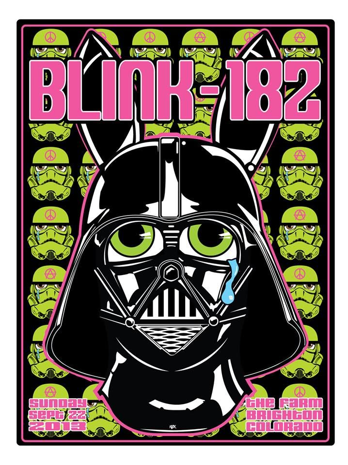 38 Best Images About Blink 182 Posters On Pinterest