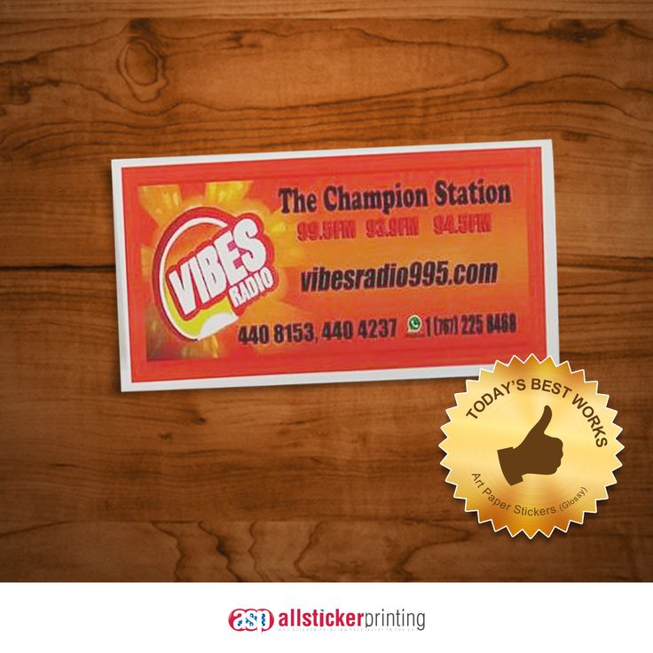 Get this best selling sticker from us allstickerprinting gloss paper stickers we give 20