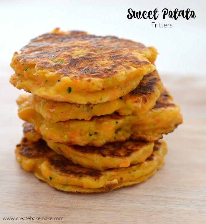 Sweet Potato Fritters Create Bake Make Recipe Sweet Potato Fritters Potato Fritters Fritters