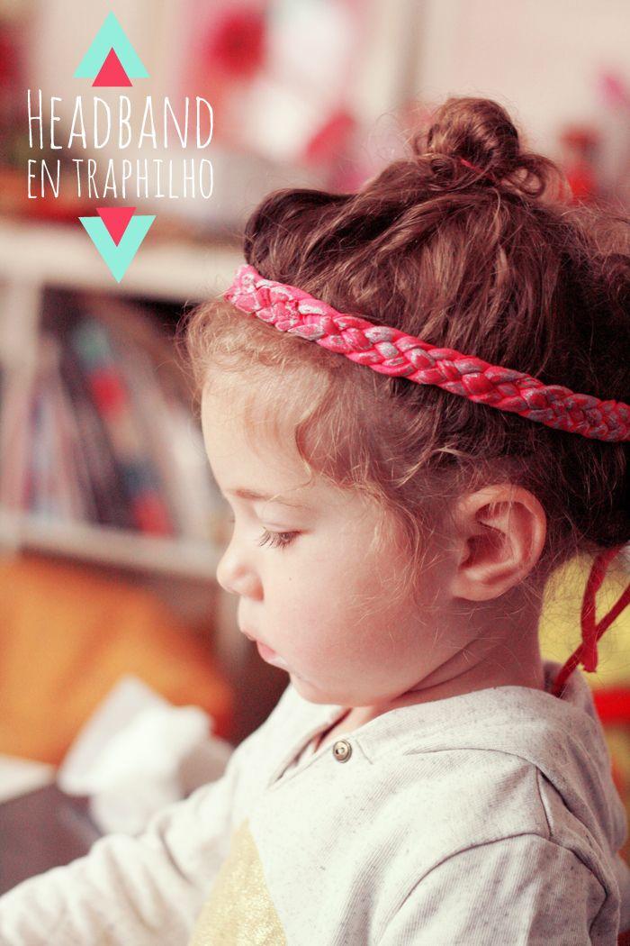 Un Headband facile en traphilho – Fais le toi même