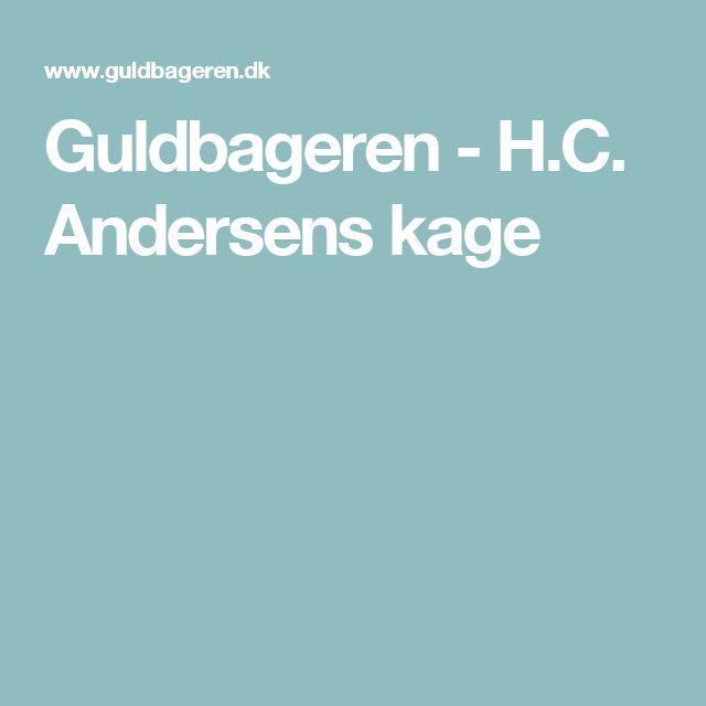 Guldbageren - H.C. Andersens kage