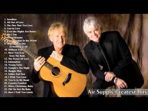 Air Supply greatest hits playlist full album 2015 | Best Songs Of Air Su...