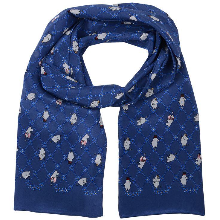 Long Moomin scarf