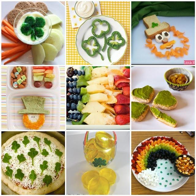 Healthy St Patricks Day Snack Ideas