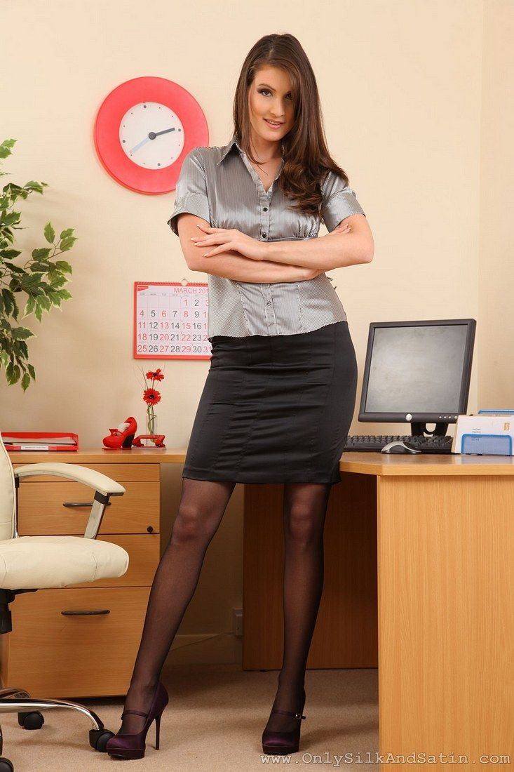 Milf skirts secretary