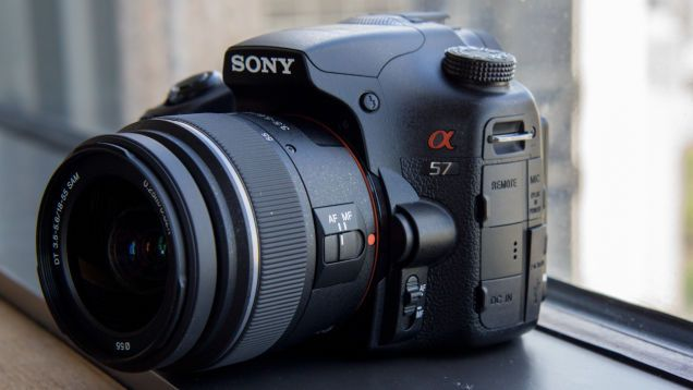 Sony Alpha SLT A57 Hands-On: DSLR Performance Without a DSLR Price.