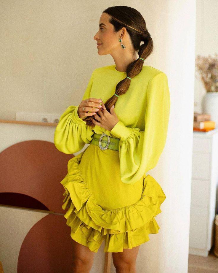 Estilo Boho, Estilo Retro, Ruffle Blouse, Instagram, Classic, Women, Posts, Fashion, Jacquard Dress