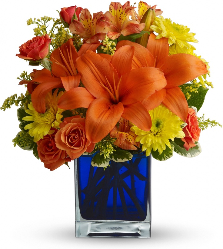 Order Summer Nights By Teleflora From Villere S Florist Your Local Metairie Send For Fresh And Fast Flower Delivery