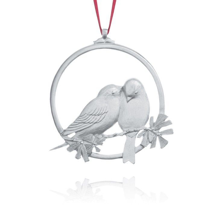 WINTER BIRDS COLLECTOR ORNAMENT 1982