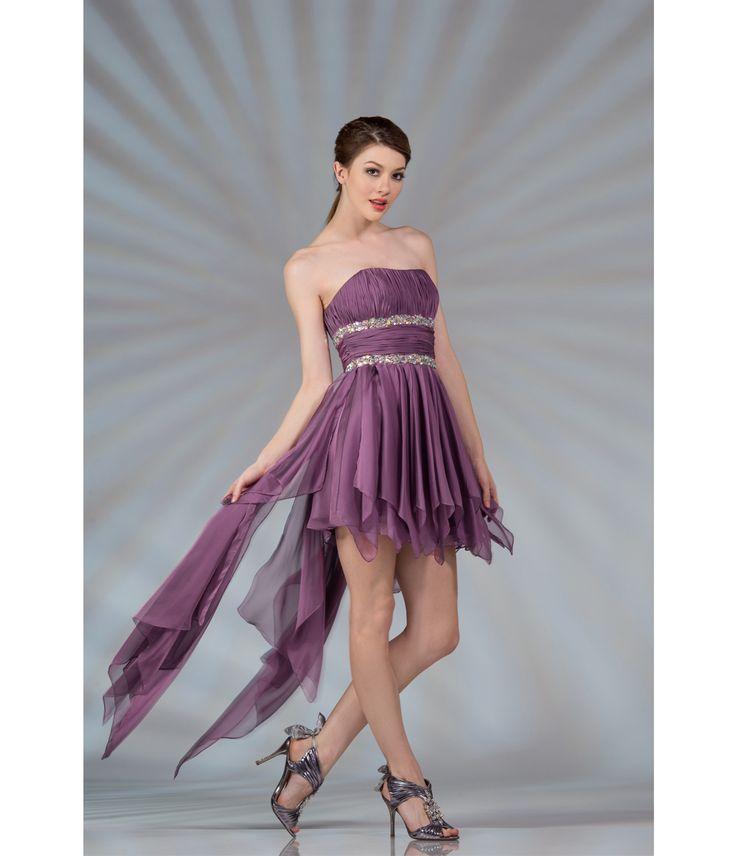 Details about Cinderella Divine 5870 Short Paseant Prom Bridesmaid ...