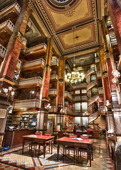 Law library. Des Moines, Iowa.
