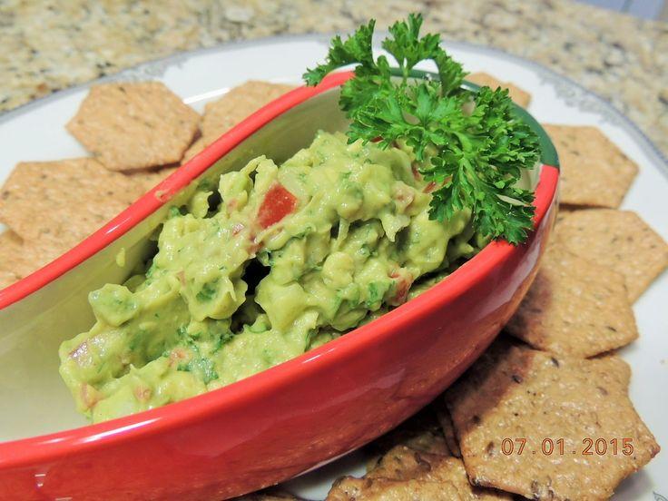 ГУАКАМОЛЕ - закуска, соус  из авокадо ( отличный рецепт)
