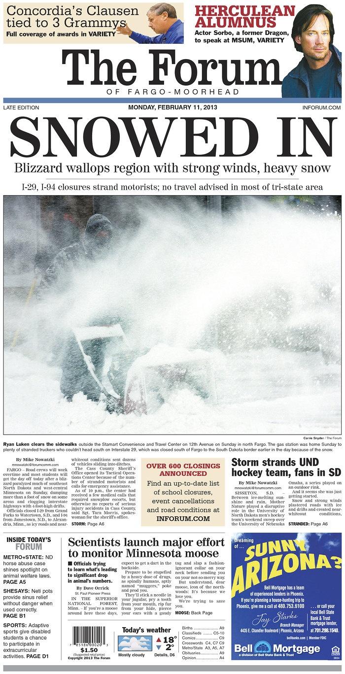 Fargo North Dakota Newspaper