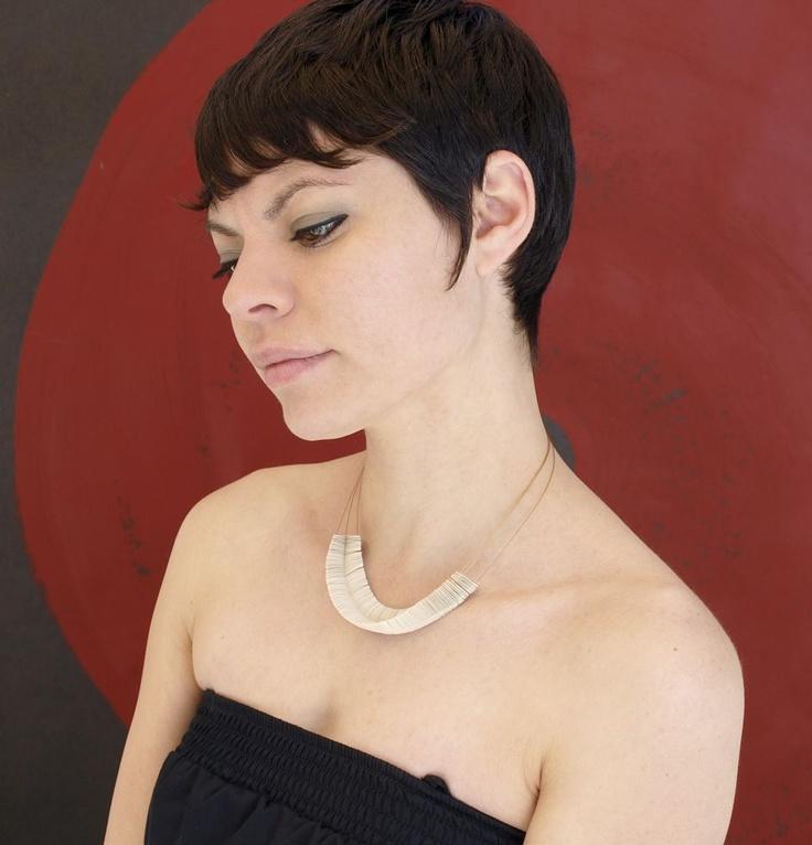 Necklace by Giovanna Torrico. hyperbola series