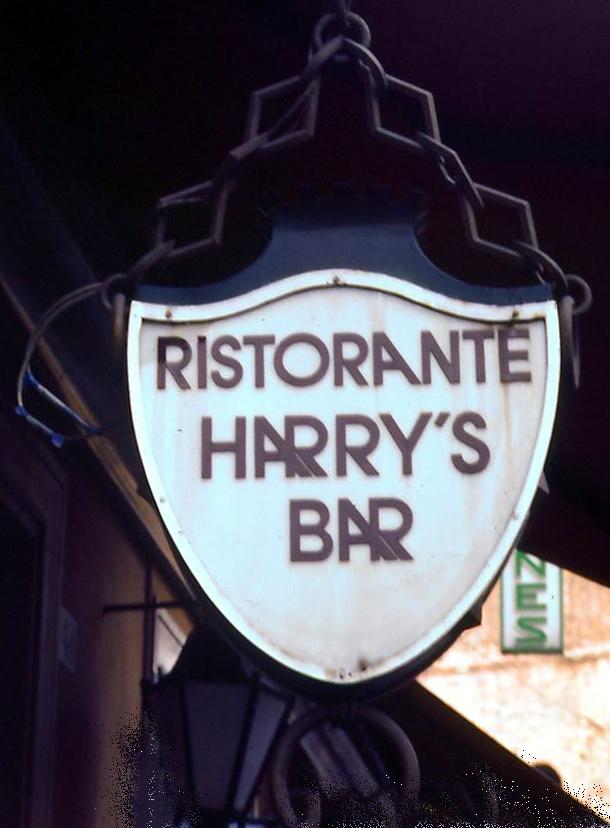 Harry's Bar.  Rome, 1980.