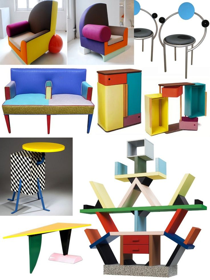 Best 25 memphis furniture ideas on pinterest memphis for 1980s furniture design