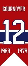 Yvan Cournoyer fut intronisé au Temple de la renommée du hockey en 1982. Il agit depuis quelques années à titre d'ambassadeur pour l'équipe. 25 ans après avoir accroché ses patins, Cournoyer se retrouve toujours parmi les 10 meneurs de tous les temps des Canadiens pour le nombre de matchs disputés, les buts, les aides et les points, tant en saison régulière qu'en séries. Les Canadiens ont retiré son chandail le 12 novembre 2005, en compagnie d'une autre légende du Tricolore, Dickie Moore.