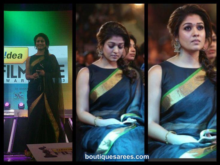 Nayantara at Film Fare Awards 2014 South
