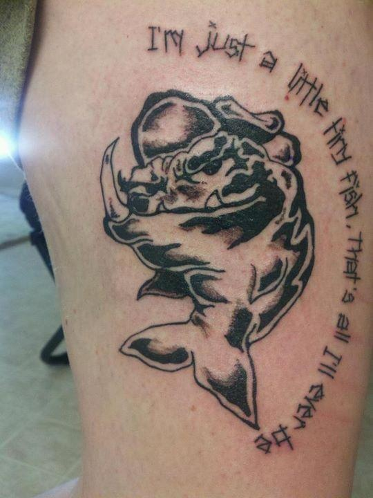Reel big fish logo tattoo