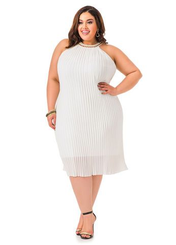 21 best Plus Size White Summer Dresses images on Pinterest