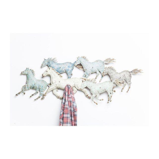 patre horses colore kare design - Patere Colore