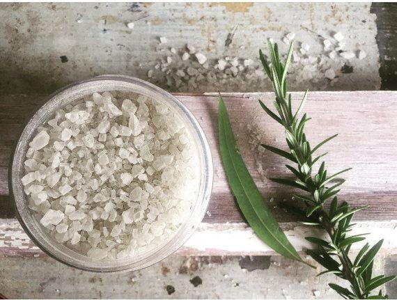 Bath Salts. Bath Soak. Detox. Natural Plant-Based Ingredients.