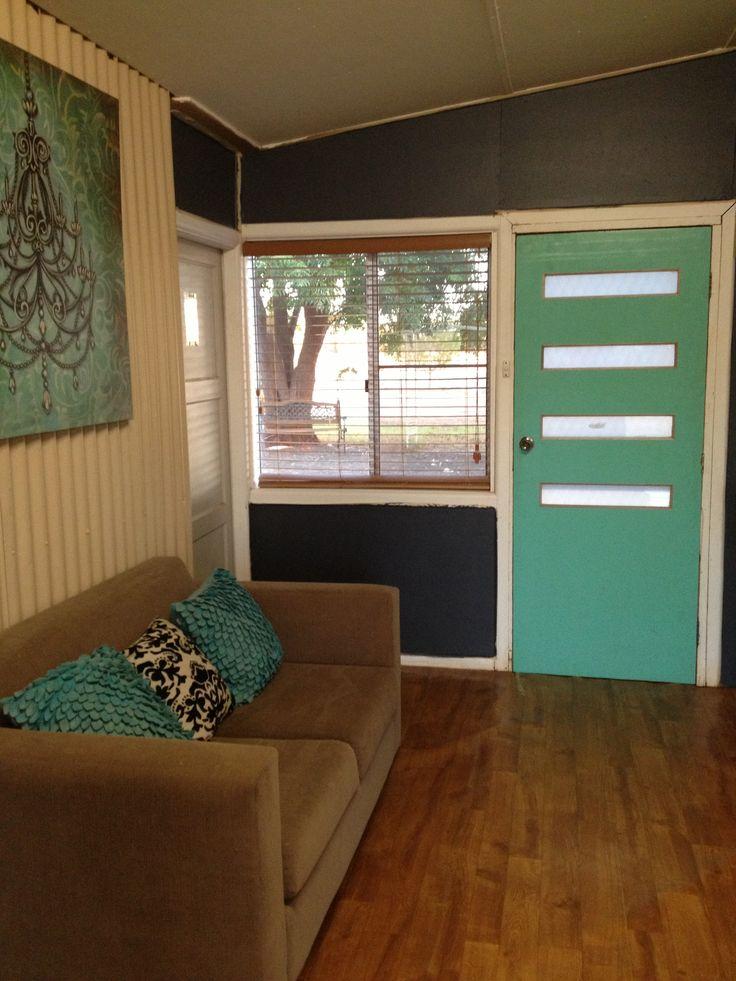new door...