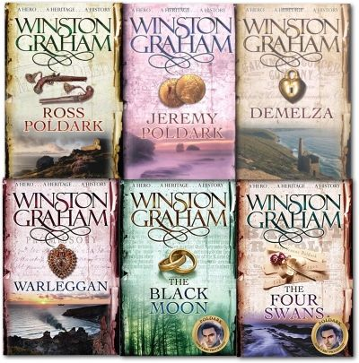 Poldark Series Collection of 6 Books (Books1-6) by Winston Graham #Novel #Book #AdultFiction #Poldark #Demelza #TheBlackMoon #Warleggan http://www.snazal.com/winston-graham-poldark-series-6-books-collection-set-a-novel--DEALMAN-U5-Winston-6bks.html