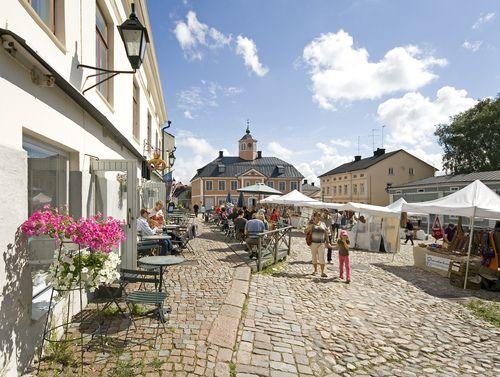 Market square of Porvoo #Finland#ScanAdventures