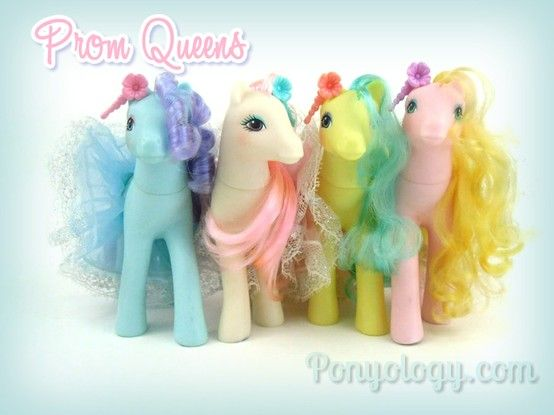 My Little Pony Prom Queen Sweetheart Sisters