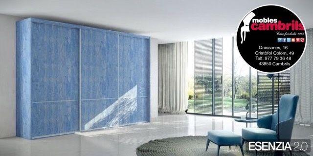 Armarios correderas en BLUE JEANS by MOBLES CAMBRILS