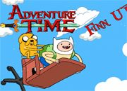 Adventure Time Finn Up | Garfis juegos online - Gumball - Mario Bros - Pou