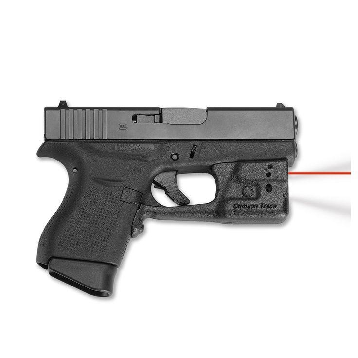 Glock 43 Lasers - CrimsonTrace Laserguard for Glock 42 and 43 - Glock Accessories at Glocktopia