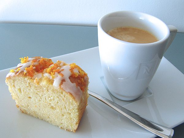 Joghurtkuchen mit Bergamotte