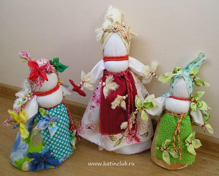 Обрядовые куклы Птица Радость