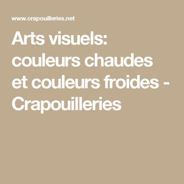 Arts visuels: couleurs chaudes et couleurs froides - Crapouilleries