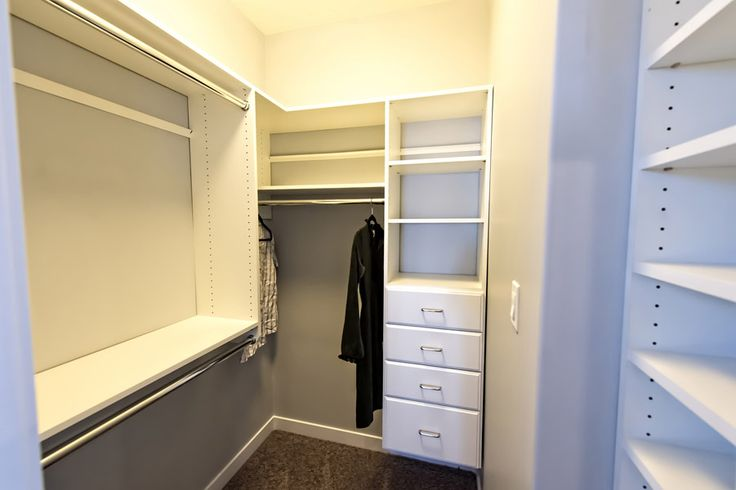 Custom built in walk in closet #makeityourown #buildwithharmony #liveinharmony #harmonybuilders #customize #storage