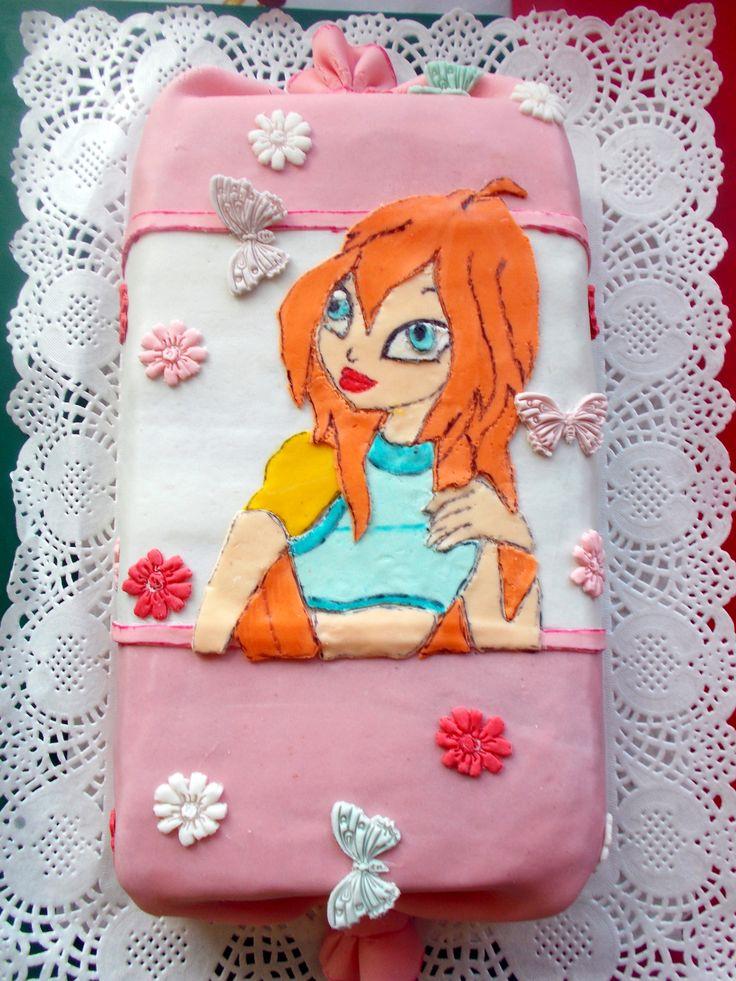 Винкс Блум. торт конфетка