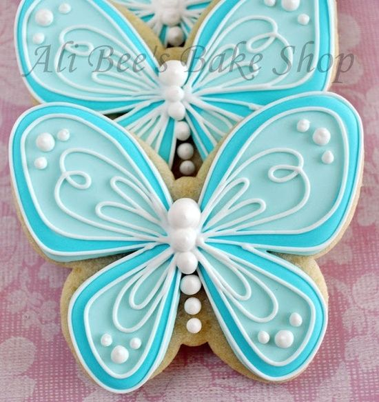 gorgeous butterfly cookies by Janny Dangerous