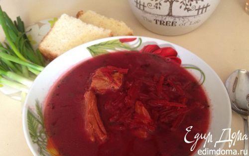 Польский борщ (на пюре) | Кулинарные рецепты от «Едим дома!»